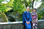 Authentic kimono experience at the world heritage site sengan en in kagoshima 408521