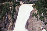 Half-Day Trip to Montmorency Falls and Ste-Anne-de-Beaupré from Quebec, Quebec City,