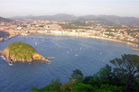 San Sebastian and Biarritz, Basque Country,