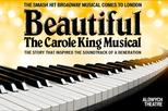 Beautiful: The Carole King Musical at the Aldwych Theatre in London
