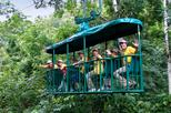 Aerial Tram at the Rain Forest from San José