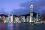 Hong Kong Harbor Night Cruise and Dinner at Revolving 66 Restaurant