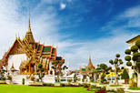 Bangkok Shore Excursion: Private Grand Palace and Buddhist Temples Tour, Bangkok,