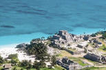 3-in-1 Adventure from Cancun: Tulum Ruins, Beach and Cenote Zazil Ha