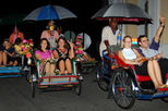 Georgetown Trishaw Ride Night Tour from Penang with Hawker-Style Dinner