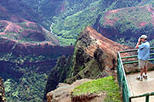 Waimea Canyon Bicycle Downhill, Kauai,