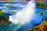 Private Tour of Niagara Falls with Hornblower Cruise, Journey Behind the Falls, Skylon Tower, and Buffet Lunch