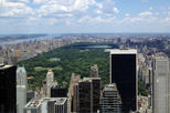 "Observationsdäcket ""Top of the Rock"" i New York"