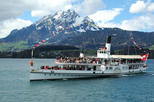 Golden Round Trip with Lake Cruise to Mt Pilatus from Lucerne Self-Guided Tour
