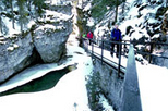 Johnston Canyon Icewalk®, Banff, Ski & Snow