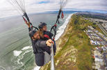 Paragliding Tandem Flight from the Bay Area