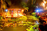 Spectacular Over Water Night Show with Buffet Dinner at Muri Beach