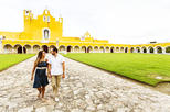 Private Day Trip: Izamal and Aké Ruins with Hacienda Visit from Merida