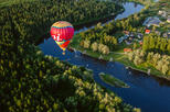 Hot Air Balloon Flight Over Sigulda National Park
