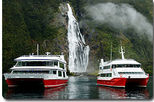 Milford Sound Sightseeing Cruise including Optional Lunch, Fiordland & Milford Sound, Day ...