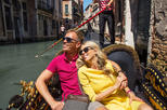 Private gondola ride off the beaten path in Venice
