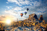 Low cost hot airbaloon ride in Cappadocia