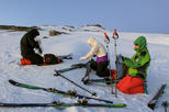 Introduction to ski touring - guided trip for alpine skiers in Tromso