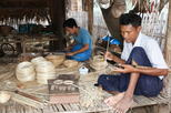 Bagan Lacquerware Workshop at Local Village