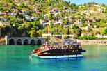 Alanya Catamaran Boat Tour with Sunbathing Swimming and Snorkelling