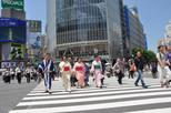 Dress in Kimono and Take Pictures at the Shibuya Crossing