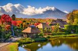 Campaign Tour! Visiting Mt Fuji 5th Station Lake Kawaguchi Oshino Hakkai and Gotemba Premium Outlets