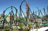 Six Flags Magic Mountain Admission with Transport from Anaheim