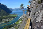 Romsdalsstigen Via Ferrata - Introwall