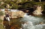 Fly Fishing in the Andes, Mendoza,  with riverside barbecue