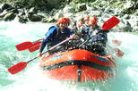 Half day whitewater rafting on the Soca River from Bovec