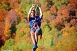 Mega Ziplines over Laurentian Mountains in Mont-Tremblant