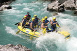 Soca Rafting incl local food and local beer