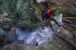 Small-Group Full-Day Canyoning and Abseiling Adventure from Katoomba