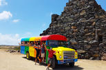 Colorful Beach Bus Sightseeing Tour of Aruba