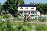 Guided bike tour on Ile d'Orleans