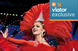 Viator VIP: Moulin Rouge Show with Exclusive VIP Seating and 3-Course Dinner, Paris, Cabaret