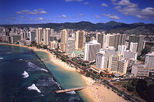 Oahu Sky and Sea Combo: Helicopter Tour with Sunset Dinner Cruise or Atlantis Submarine Excursion, ...