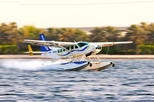 Dubai Seaplane Flight from Abu Dhabi with Burj Khalifa ticket and Transfer