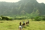 Horseback Adventure at Kualoa Ranch on Oahu, Oahu,