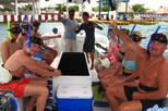 2.5-Hour Glass-Bottom Boat and Snorkeling Tour with Beach Resort from Cozumel
