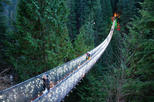 Canada - British Columbia: Vancouver City and Capilano Suspension Bridge Canyon Lights Tour