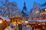 Christmas Market Visit and Traditional German Christmas Dinner Experience from Frankfurt