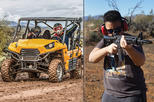 3-Hour UTV and Shooting Combo