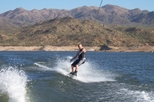 Pontoon Boat or Wakeboat Rental at Lake Pleasant