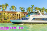 Miami Boat Tour of Millionaire' Row with Hotel Pick-up