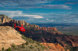 Anasazi Cliff Dwellings Via Helicopter from Sedona