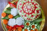 Private 3-Hour Vegetable and Fruit Carving Class in Chiang Mai Downtown