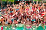 6-Hour Daytime Rooftop Pool and Beach Party in Playa del Carmen with Open Bar