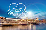 Valentine's Day Dinner with romantic night cruising on the Danube in Budapest
