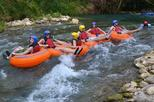 Montego Bay Rose Hall Shopping and All inclusive River Rapids Adventure with Beach